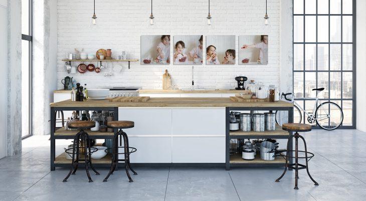 Cuadros de tus fotos en cocina
