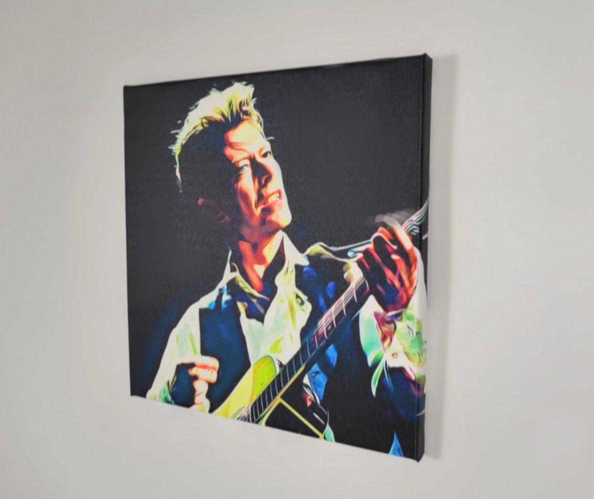 Lienzo David Bowie sobre bastidor