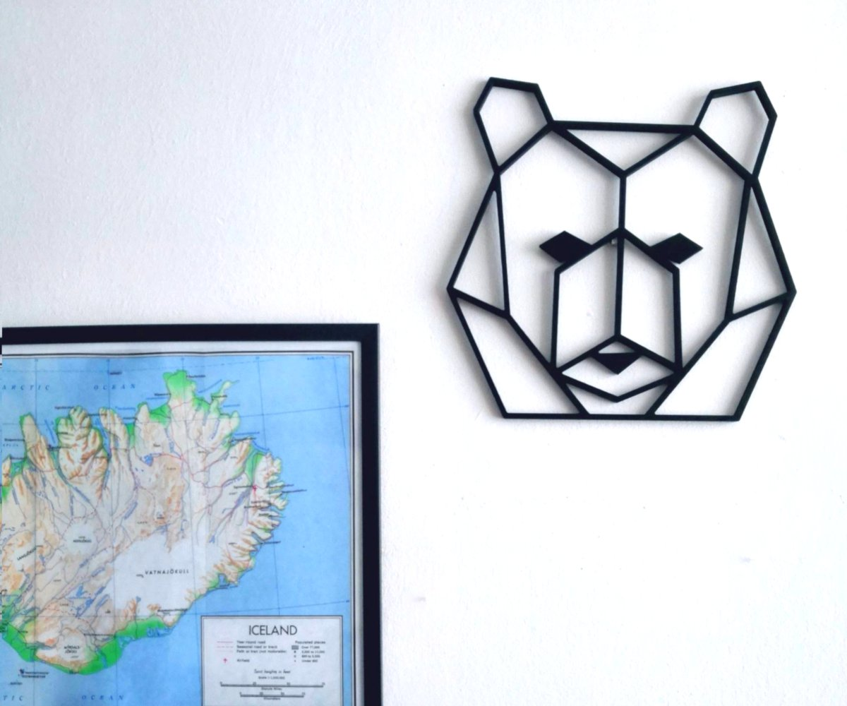 animales geometricos combinados con cuadros